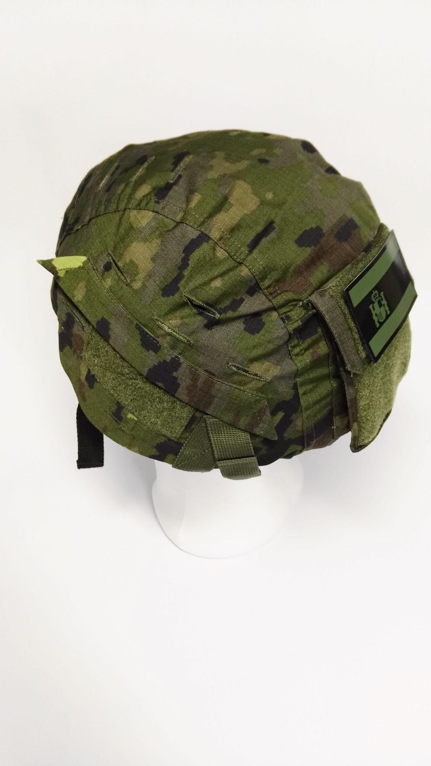Funda t/áctica para casco r/ápido Multicam con parche t/áctico para casco Airsoft sin casco